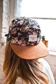 floral snapback floral snapback it s actually a 5 panel ahhhhh this is so