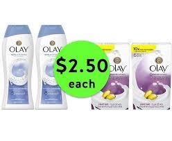 Sabun Olay run to publix for 2 50 olay washes bar soap 6 packs