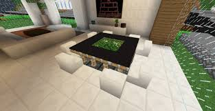 minecraft furniture tables designer piston table minecraft