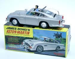 james bond aston martin gilbert japan tinplate boxed james bond aston martin db5 battery