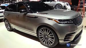 2018 range rover velar exterior and interior walkaround debut