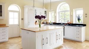 Kitchen Design L Shape Youtube Chic White Shaker Kitchens Interior With L Shaped White Kitchen