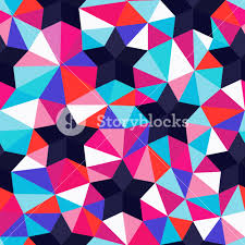 seamless backdrop vector background of repeating geometric and triangles