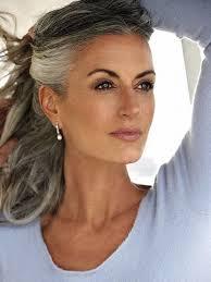 hairstyles with grey streaks 21 impressive gray hairstyles for women gray hair gray and hair