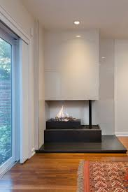 fireplace finishes washington square west surprises with modern interior asks 925k