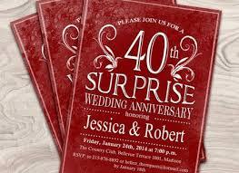 40th anniversary gift 16 40th wedding anniversary gift ideas wedding world ruby wedding