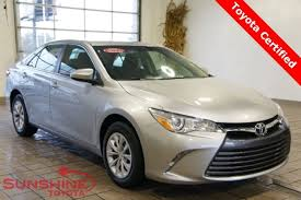 toyota camry 2015 sale used 2015 toyota camry for sale at toyota in battle creek