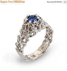 engagement rings on sale black friday sale coral 14k white gold blue sapphire engagement