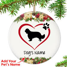 i my cavalier ornament top pet gifts