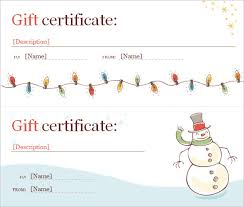 microsoft certificate template blank gift certificate template