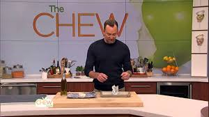 the chew com recipes thanksgiving roasting garlic the chew youtube