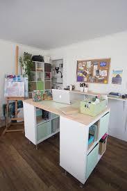 craft desk ikea decorative desk decoration