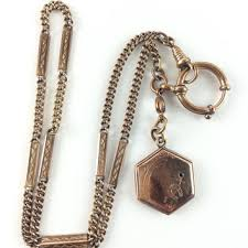 vintage watch chain necklace images Shop gold victorian watch fob on wanelo jpg