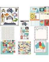 themed paper amazing deal on scrapbook customs themed paper stickers