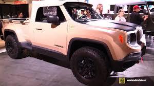new jeep comanche jeep comanche concept exterior and interior walkaround 2016
