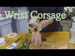 how to make wrist corsages how to make a wrist corsage with cymbidium orchids
