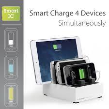 Smartphone Charging Station 8a 40w Multiple Usb Desktop Charging Station Avantree Powerhouse