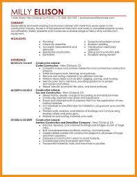 Project Coordinator Resume Sample Construction Resume Example Construction Resume Example