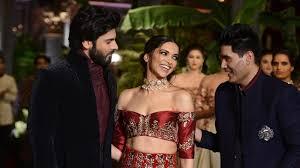 5 Deepika Padukone Controversies That Stunned Bollywood - manish malhotra s muse fawad khan and deepika padukone stun at icw 2016