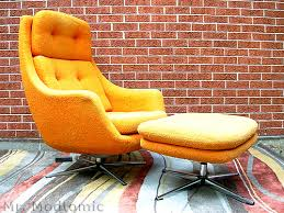 retro chair and ottoman pin by furnishly com on st louis listings pinterest pod chair