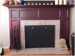 lovely ideas magnetic fireplace cover insulated magnetic fireplace
