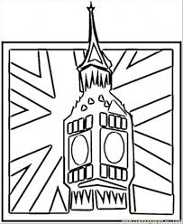 england flag coloring page big ben coloring page free great britain coloring pages