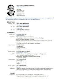 free resume templates pdf resume format free 25 ide terbaik for sles pdf us