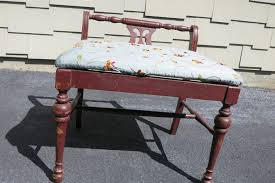 Vintage Vanity Chair Easy Vanity Bench Makeover 2 Bees In A Pod