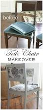 Painted Furniture Ideas Before And After Before U0026 After How To How To Reclaim Old Dining Chairs Diy