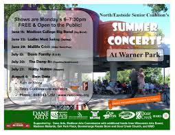 summer concert series 2015 north eastside senior coalition