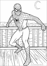 pictures spiderman color imagui