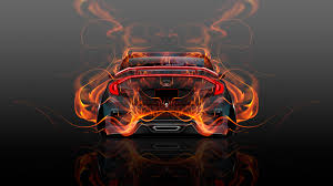 honda civic jdm honda civic jdm back fire abstract car 2015 wallpapers el tony