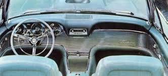1961 Thunderbird Interior 1961 Ford Thunderbird Standard Equipment