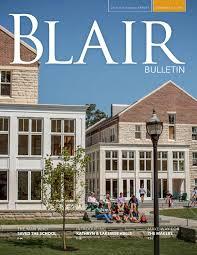 summer fall 2015 bulletin by blair academy issuu