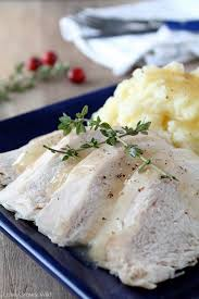 Slow Cooker Thanksgiving Turkey Slow Cooker Butter And Herb Turkey Breast Love Grows Wild