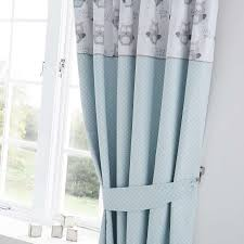 Blackout Curtains For Nursery by Little Owls Nursery Blackout Pencil Pleat Curtains Dunelm Baby