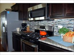 kitchen glass and stainless steel backsplash stainless steel