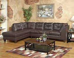 chocolate sectional sofa roundhill furniture marinio chocolate faux leather left chaise