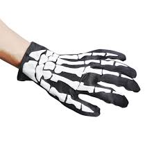 halloween skeleton gloves online buy wholesale skeleton gloves costume from china skeleton