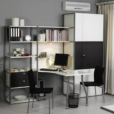 Home Office Computer Armoire by Apartments Contemporary Home Office Design Ideas With Wall