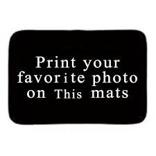 tapis de bureau personnalisé personnalisé maison porte d entrée tapis avec photo et texte