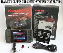 icarsoft crplus obd2 ii reset diagnostic multi car scan tool fault