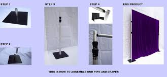 pipe and drape backdrop make your own photo backdrop pipe and drape diy stage decoration