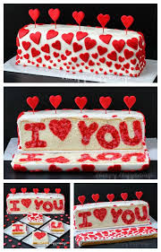 Valentine S Day Dessert Decorations by Cut Into This Beautiful Red And White Heart Cake And You U0027ll Find A