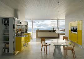Yellow Kitchen Table And Chairs - extraordinary retro kitchen furniture with antique white round