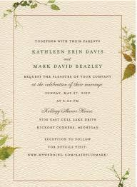 what to say on a wedding invitation what should a wedding invitation say as diy wedding