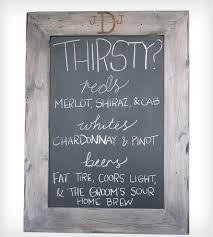 custom driftwood framed chalkboard home decor u0026 lighting host