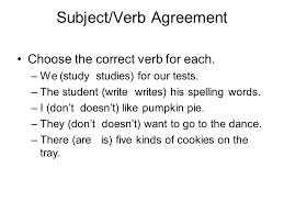 verb test review u2013 6 th grade principal parts of verbs present