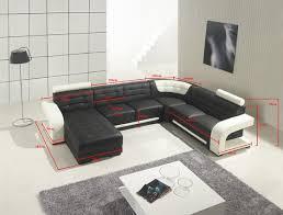 Designer Leather Sofa italian black and white 3 and 2seater leather sofa id 5458647