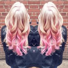 pink highlighted hair over 50 platinum blonde with pink highlights in love hair